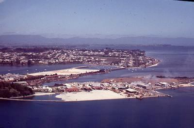 Slide, Aerial View, Sulphur Point, Tauranga