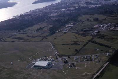 Slide, Aerial View, Airport, Mount Maunganui