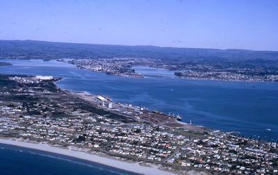 Slide, Aerial View, Mount Maunganui