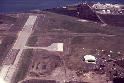 Slide, Aerial View, Tauranga Airport