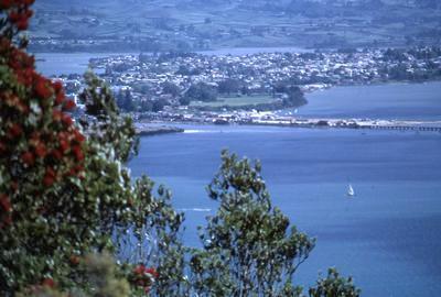 Slide, Otumoetai from Mauao, Mount Maunganui