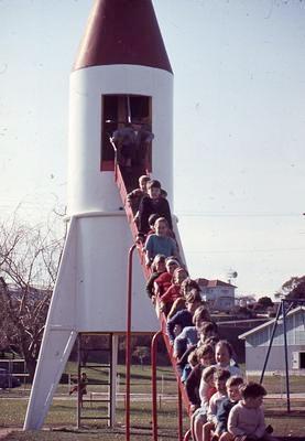 Slide, Rocket Slide, Memorial Park, Tauranga