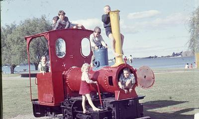 Slide, Train, Memorial Park, Tauranga