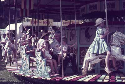 Slide,  Merry-go-round, Memorial Park, Tauranga
