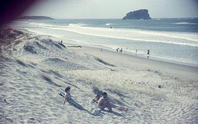 Slide, Mount Maungnui Beach
