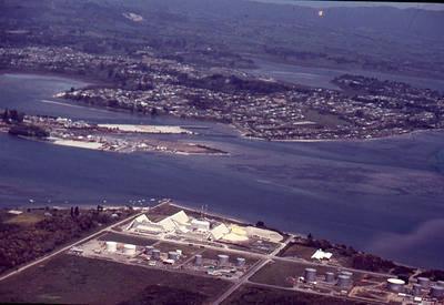 Slide, Aerial View, Tauranga Harbour