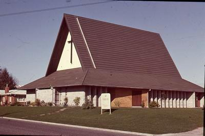 Slide, St Columba, Church, Tauranga