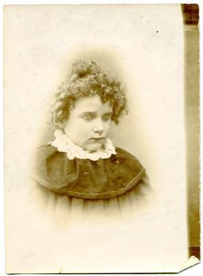 Print, Photographic, Young Girl