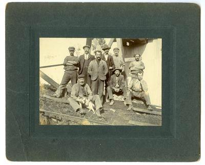 Print, Photographic, Miners, Karangahake