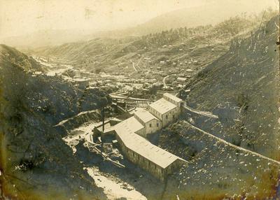 Print, Photographic, Mining, Karangahake Gorge