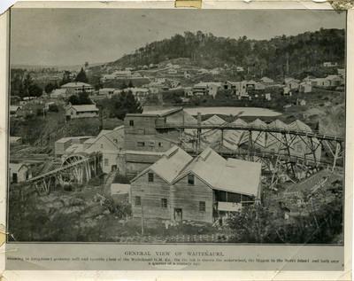 Print, Photographic, Mining, Waitekauri