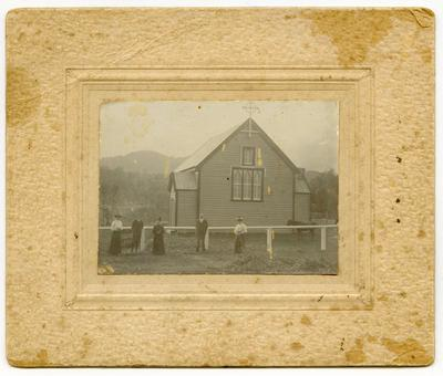 Print, Photographic, All Saints Anglican Church, Waitekauri