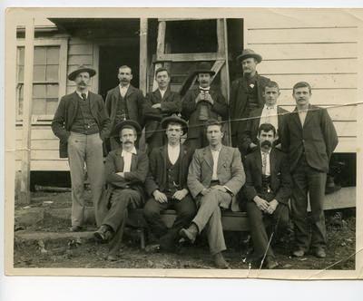 Print, Photographic, Miners, Waitawheta Gorge, Karangahake