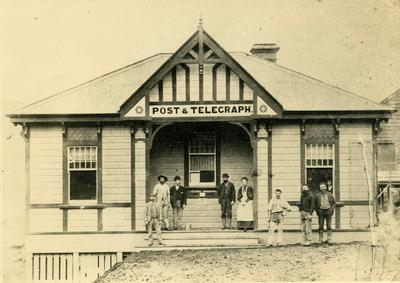 Print, Photographic, Waitekauri Post Office