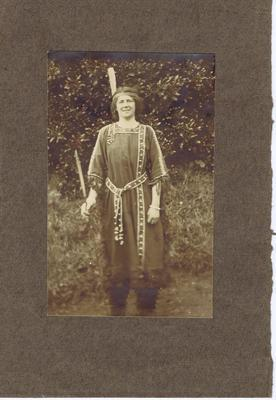 Print, Photographic, Woman in costume