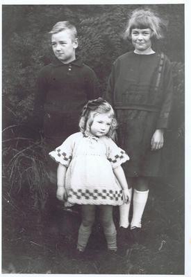 Print, Photographic, Three Children