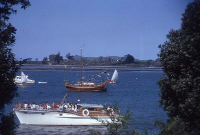 Slide, Golden Lotus, Tauranga Harbour