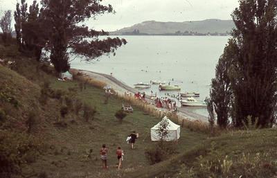 Slide, Water Skiing, Tauranga Harbour