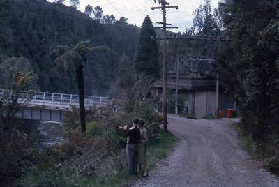 Slide, McLaren Falls Power House, Lower Kaimai
