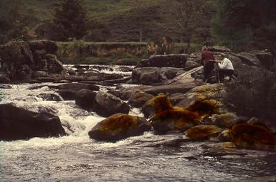 Slide, River Scene