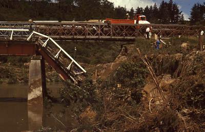 Slide, Ruahihi Bridge, Wairoa River