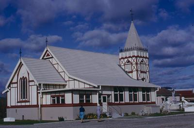 Slide, St. Faith's Church, Ohinemutu