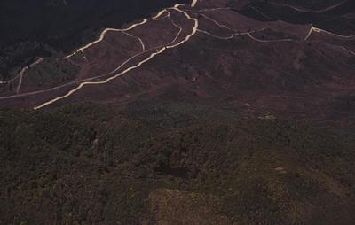 Slide, Mount Edgecumbe