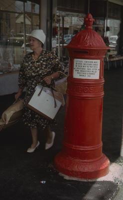 Slide, Letter-box, Thames