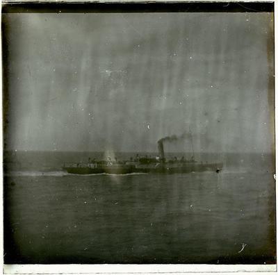 Lantern Slide, Steamship
