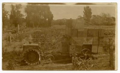 Print, Photographic, Farm Implement