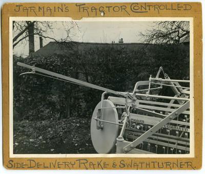 Print, Photographic, Rake and Swath Turner