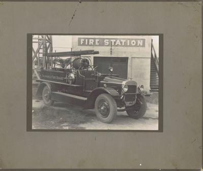 Print, Photographic, Tauranga Fire Engine