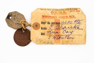 Disc, Identity, WW1