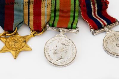 Miniature Medals, Set, WW2