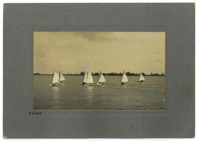 "Print, Photographic, ""P"" Class, Tauranga Harbour"