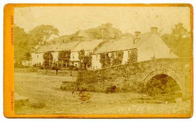 Print, Photographic, Village scene