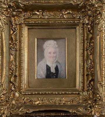 Oil Painting, Portrait of Elderly Woman