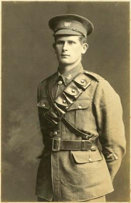 Print, Photographic, Soldier, Ken Hooton, WW1