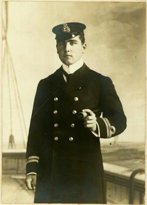 Print, Photographic, Naval Officer