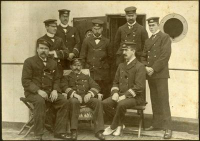 Print, Photographic, Naval Officers