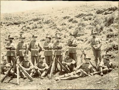 Print, Photographic, Group of Soldiers