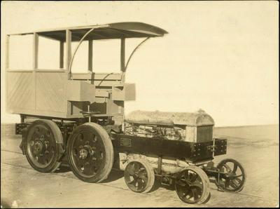 Print, Photographic, Fordson Tractor