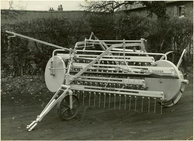 Print, Photographic, Jarmain side delivery rake & swath turner