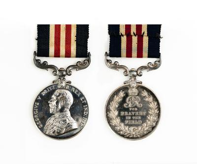 Military Medal, WW1, C. P. Hine