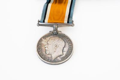 British War Medal, WW1, Cpl. J. B. D. Kemp