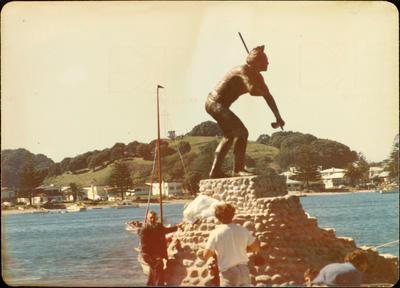 Print, Photographic, Tangaroa Statue, Pilot Bay