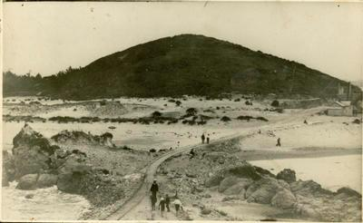 Print, Photographic, Mt Drury from the Quarry, Mount Maunganui