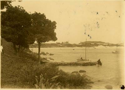 Print, Photographic, Old Stone Wharf, Mount Maunganui