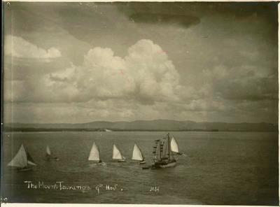 Print, Photographic, Regatta at Mount Maunganui