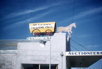 Slide, McLean's Trading Post